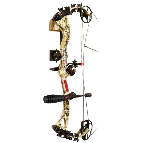 PSE Bow Madness XS RTS Package Right Hand Bow, 60-Pound, Mossy Oak Break Up Infinity