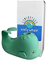 Wally Whale Silicone Bathtub Cover with Shower Diverter Access Protects Kids & Pets From Faucet Bumps and Bruises from Market Pro Co, LLC