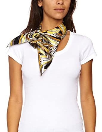 Bellewear Magic Women's Scarf Abstract Leaves One Size