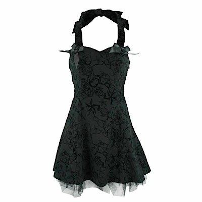 Top-vestito rosa & SWALLOW DRESS black nero 36