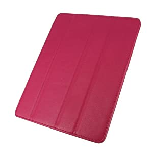 rooCASE Smart Case for iPad 2 - Magenta