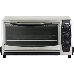 Farberware FAC850SS 6-Slice Stainless-Steel Convection Toaster Oven