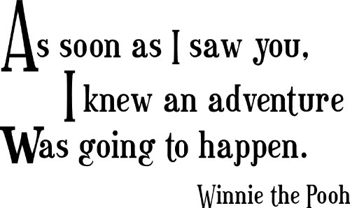 Winnie The Pooh Wall Quotes front-646354
