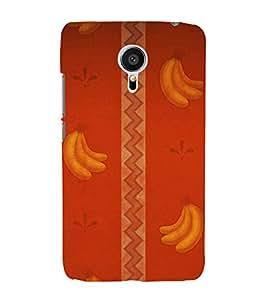 printtech Abstract Design Banana Back Case Cover for Meizu MX5