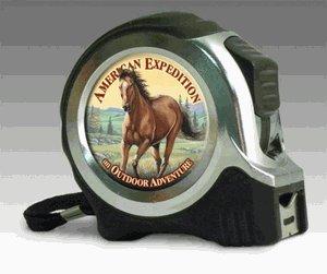 Imagen de Expedición estadounidense Mustang Horse 25 Cinta métrica FT