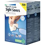 Bausch & Lomb Sight Savers Premoistened Lens Cleaning Tissues - 100 Count, 2 pk.
