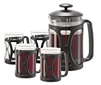 5 Pc. French Press Coffee Set