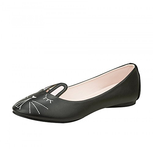 TUK Shoes, Ballerine donna nero nero nero Size: EU40 / UKW7