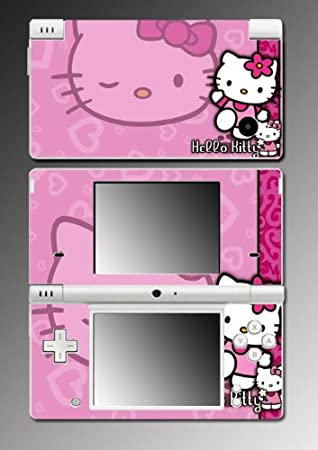 Hello Kitty Pink Princess Cute Baby game Vinyl Decal Skin Protector Cover #2 for Nintendo DSi