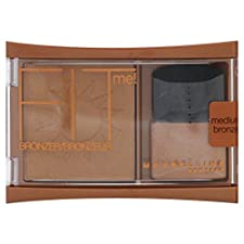 Maybelline New York Fit Me! Bronzer, Medium Bronze, 0.16 oz (4.5 g)
