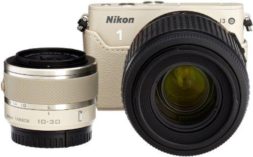 Amazon.co.jp限定Nikon1 J3 HLK+55-200mm超望遠セットA ベージュ N1J3+55-200BGBEKA