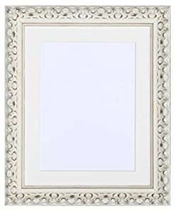Tailored frames vienna range vintage ornate shabby chic - Antique white picture frames ...