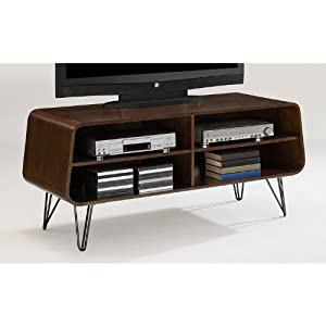 Fortune bliss retro tv stand a vintage style media entertainment center for your Home theater furniture amazon