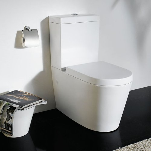 Maple Close Coupled Modern Toilet and Cistern