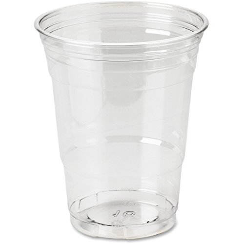 Dixie Foods CP16DXCT Cold Drink Cups, 16 oz., 500/CT, Clear Plastic