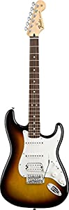 Fender Standard Stratocaster®, HSS Electric Guitar, Brown Sunburst, Rosewood Fretboard