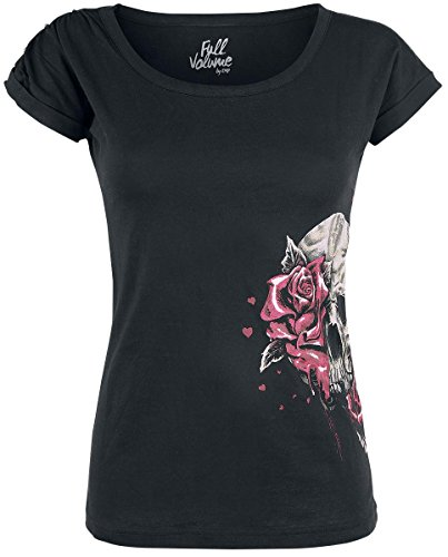 Full Volume by EMP Roses Maglia donna nero XS