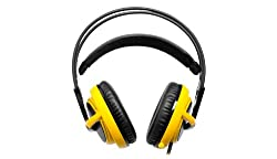 SteelSeries 51111 Siberia V2 Full Size H/S Navi Edition Over-Ear Headphone with Mic (Yellow)