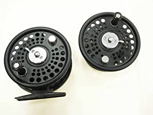 Fly Reel with extra spool (Size:7/8; Cast Aluminum) from KUFA