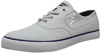 DC Shoes Flash Tx M Shoe Lgy, Chaussures de skateboard homme - Gris (Light Grey), 40 EU