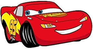 Character UK - Cars Rug Red Car 100 x 52 cm by .