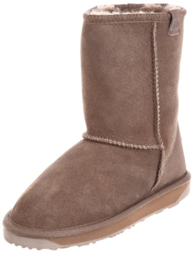 Emu Stinger Low W10002 Mushroom Womens Casual Boots Size 5 Uk
