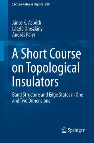 a-short-course-on-topological-insulators-band-structure-and-edge-states-in-one-and-two-dimensions-le