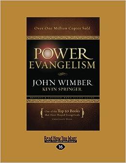 JOHN EVANGELISM PDF POWER WIMBER