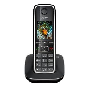 Gigaset C530 Téléphones Sans fil Ecran Noir