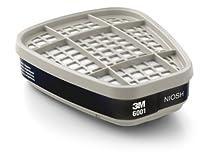 3M Organic Vapor Cartridge 6001, Respiratory Protection (30 Pairs)