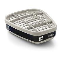 3M Organic Vapor Cartridge 6001, Respiratory Protection (Pack of 30)