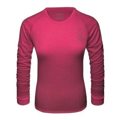 Damen-Funktionsunterhemd-Langarmshirt-Merino-Sport-Shirt