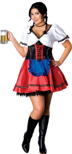 Sexy Beer Garden Girl Plus Size Costume - Womens Full
