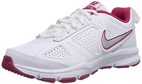 Nike T-Lite Xi - Zapatillas para mujer, color blanco rosa, talla 38.5