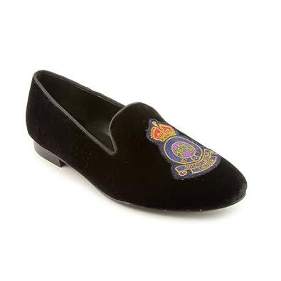 Lauren Ralph Lauren Women S Nala Flat Black 5 B Us