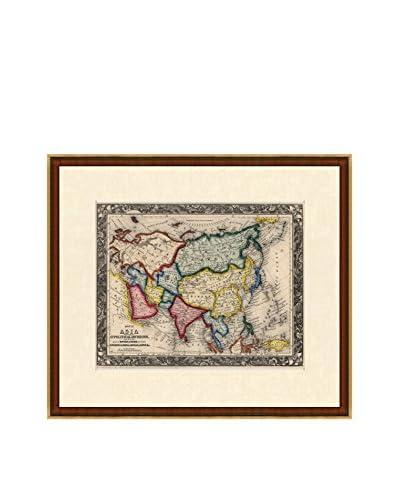 Antique Map of Asia, 1860