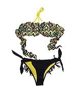 4giveness Bikini (Negro / Amarillo)