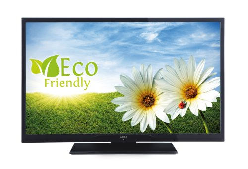 Akai AL3208TBK 81,3 cm (32 Zoll) LED-Backlight-Fernseher, EEK A (HD-Ready, DVB-T/-C, USB 2.0) matt-schwarz