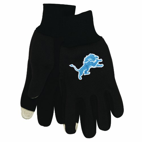 NFL Detroit Lions Technology Touch Gloves at Amazon.com