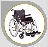 Wickelkommode - Rollstuhl S-Eco 2 von Bischoff + Bischoff Faltrollstuhl Reiserollstuhl Transportrollstuhl - Sitzbreiten 37cm, 40cm, 43cm, 46cm oder 49 cm lieferbar !