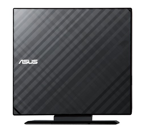 Asus USB 2.0 8x DVD Writer External Optical Drive SDRW-08D2S-U (Black)