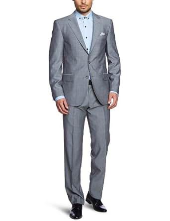 Tommy Hilfiger Tailored Herren Anzug  Kevin Brooks Pntfks13103 / Tt57832287, Gr. 98 , Grau (035 Light Grey- Eur)