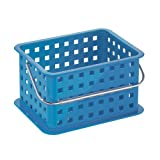 InterDesign Spa Basket, Small, Blue