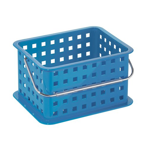 InterDesign Spa Basket, Small, Blue