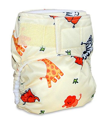 Mommy's Touch One-Size Easy-Clean TouchTape Pocket Diaper w/ Free 3 layer insert - 1