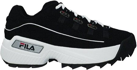 Fila Men's Hometown Extra Sneaker,Black/White/Vintage Red,11.5 M US
