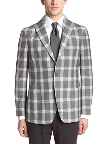 Gi Capri Men's Check Plaid Jacket