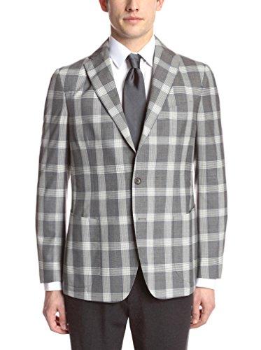 Gi Capri Men's Check Plaid Jacket
