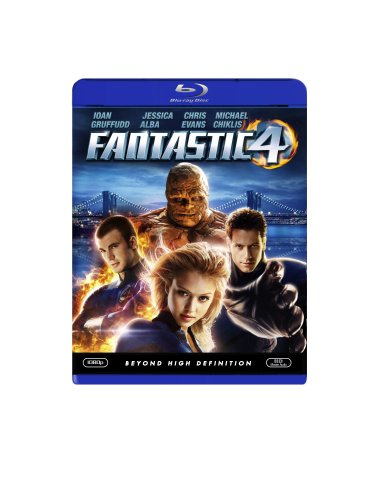 Cover art for  Fantastic Four [Blu-ray]
