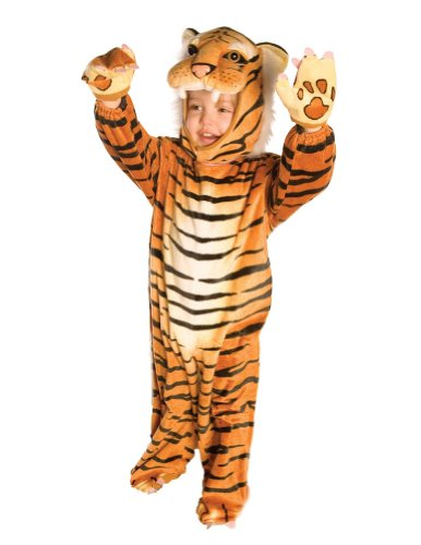 Baby-Toddler-Costume Plush Brown Tiger Toddler Costume 2T-4T Halloween Costume